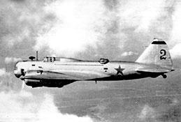 Дальний бомбардировщик ДБ-3.