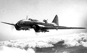 Дальний бомбардировщик ДБ-3Ф (Ил-4).