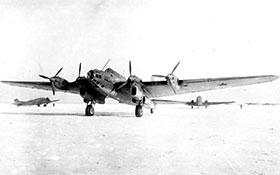 Бомбардировщик ТБ-7 (Пе-8).